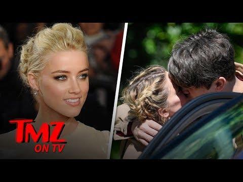 Amber Heard Packs on PDA with New BF Andy Muschietti | TMZ TV