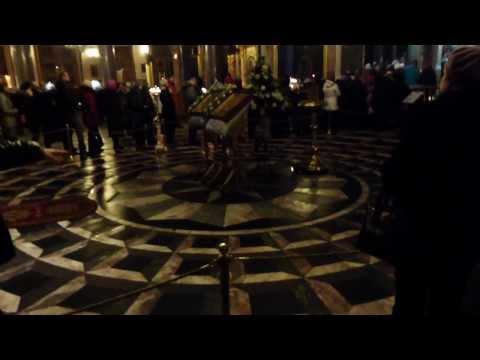 С-Петербург.Экскурсия по Казанскому собору ( фрагменты ).16 феврвля 2014 года.