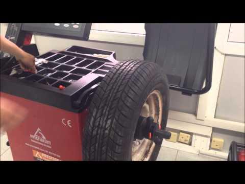 Equilibreuse de roues, calibration mise à jour et funcionement
