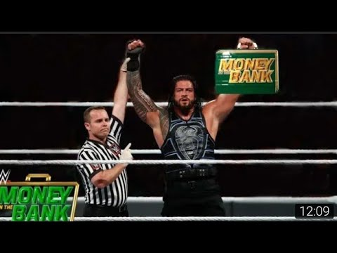 WWE 25 April 2020 Roman Reigns Destroys All in Money in the Bank  Match