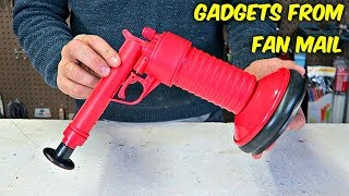 Video 10 Gadgets From Fan Mail put to the Test! MP3, 3GP, MP4, WEBM, AVI, FLV April 2018