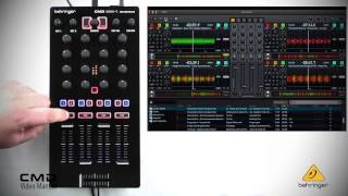 BEHRINGER VIDEO MANUAL: CMD MM-1 Fader Section