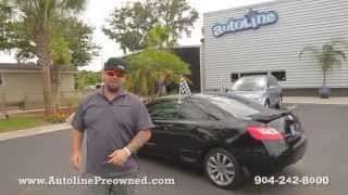 Autoline Preowned 2010 Honda Civic Cpe Si  Walk Around Review Test Drive Used For Sale Jacksonville
