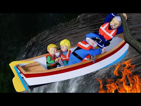 Fireman Sam New Episodes | Sam's Water Troubles - NEW Rescues Season 9 🔥  Videos For Kids