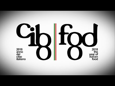 Anno del cibo italiano 2018 - Year of Italian food 2018 - 90""