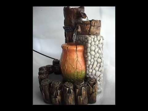 Fuente agua decorativas videos videos relacionados con for Fuentes decorativas de interior