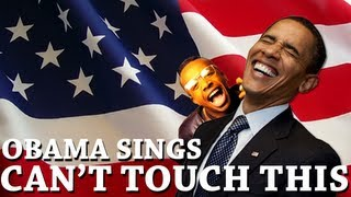Barack Obama Singing Can't Touch This by MC Hammer - YouTube