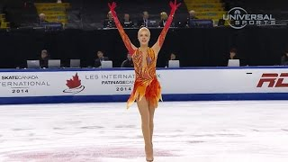 Anna Pogorilaya Wins 2014 Skate Canada - Universal Sports