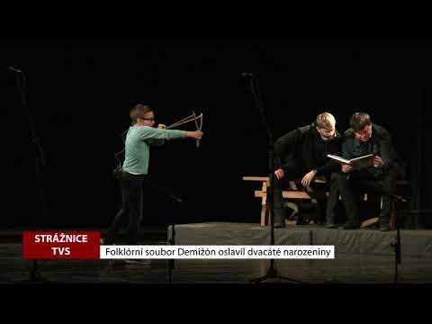 TVS Strážnice - Folklórní soubor Demižón oslavil dvacáté narozeniny