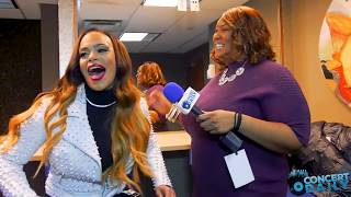 "Interview: Faith Evans reflects on ""The King And I"" album and supporting Raheem DeVaughn's concert"