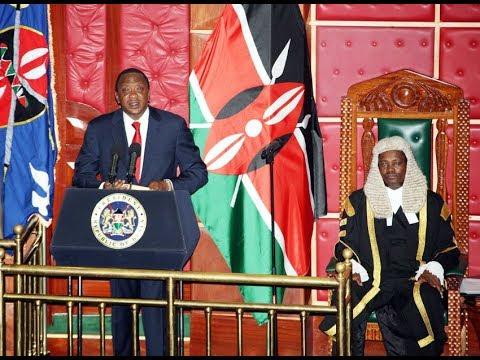 Live: President Uhuru Kenyatta address to parliament