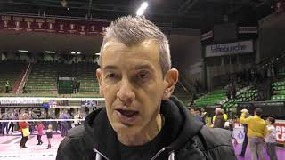 Conegliano-Liu Jo Modena 3-0, le parole di coach Fenoglio