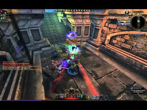 Neverwinter online – Scourge Warlock gameplay