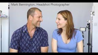 Expert Headshot advice from premier Headshot Photographer, Mark Bennington!