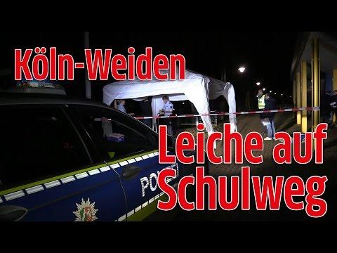 Köln-Weiden: Horror-Fund - Frauenkörper auf Schulweg entdeckt