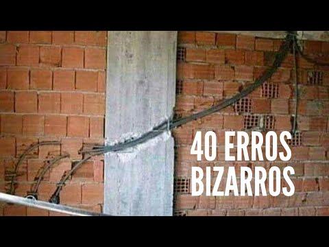 40 ERROS Bizarros DA CONSTRUÇÃO Que VÃO TE Deixar De BOCA ABERTA!
