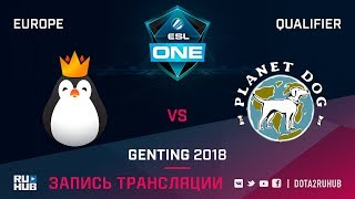 Kinguin vs Doggie, ESL One Genting EU Qualifier, game 2 [Maelstorm, LighTofHeaveN]