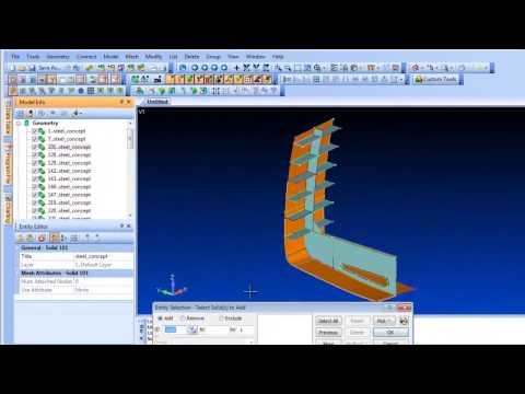 Siemens FEMAP - 11.1 Geometry Modeling Enhancements