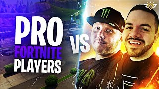 COURAGE AND TIMTHETATMAN VS PRO FORTNITE PLAYERS! TOP 1% IN NORTH AMERICA! (Fortnite: Battle Royale)