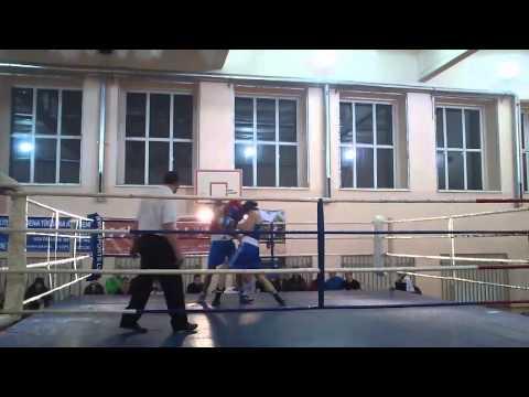 Nikita Smirnovs vs Edijs Goba 1 round. (видео)