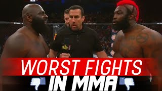 Video The Worst Fights In MMA MP3, 3GP, MP4, WEBM, AVI, FLV Oktober 2018