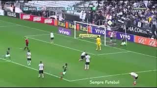 Dia 31/05/2015 - Jogando em Itaquera, o Palmeiras vence fácil e conquista a primeira vitória no Campeonato Brasileiro 2015.