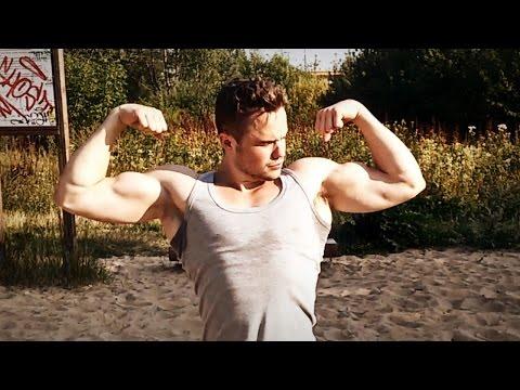 Упражнение гирей какие мышцы работают