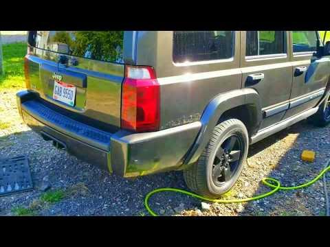 2006 Jeep Commander Plasti Dipped Wheels