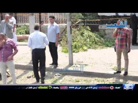 حصري| آثار انفجار وزارة الخارجية