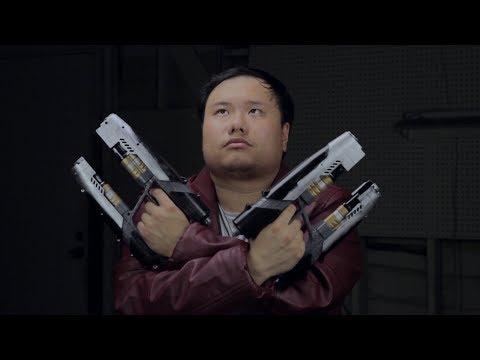 Guardians Of The Galaxy  StarLord Nerf Gun Paint Job