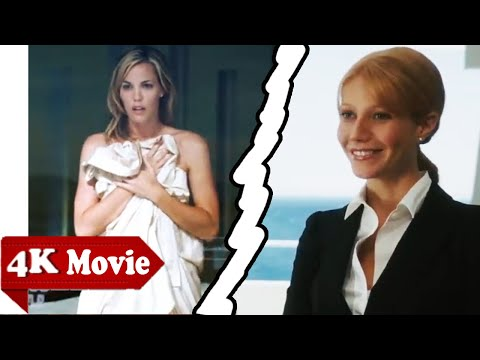 "Pepper is picking up the trash - ""CAT FIGHT"" - Tony Meets Christine - Iron Man (2008)  HD Movie CLIP"