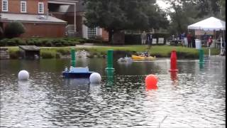 RoboBoat 2015: Competition Qualifying Run 2 of 2