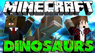 "Minecraft: Modded Dinosaur Survival Let's Play #17 ""Preparing for the End"" w/ Jerome! (Season 3)"
