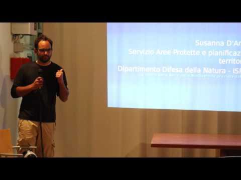 Intervento di Miguel Acebes Tosti dell'azienda Tularù al convegno della Festa della Smielatura