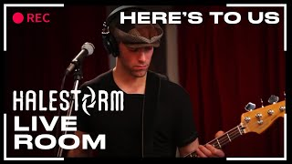 Halestorm vídeo clipe Here's To Us (In The Live Room) (Live)