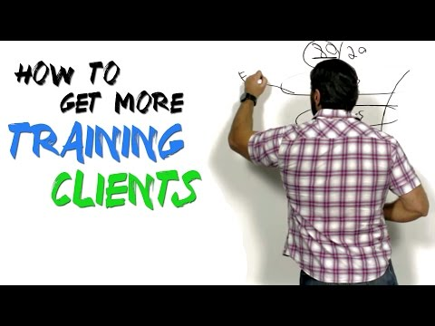 Fitness Marketing 101 (how to get more training clients)