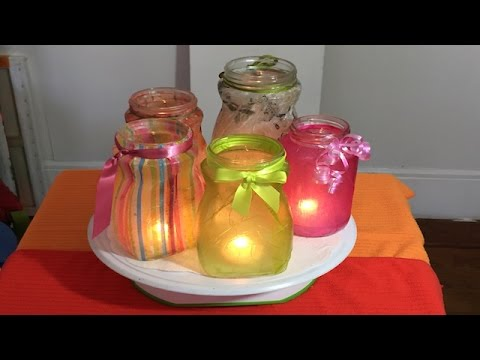 Frascos de vidrio decorados videos videos relacionados - Diy frascos decorados ...