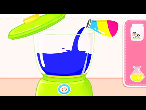 Baby Panda Chef | Baby Play Cooking & Making Juices | Cooking Game For Kids & Families By Babybus