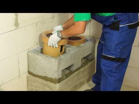 Jak se staví EURO KOMÍN CLASSIC - stavba komínu svépomocí