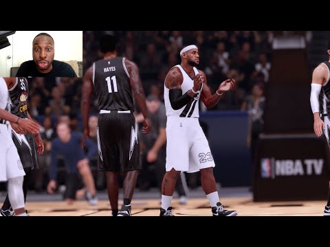 LeBron James Comes Out of Nowhere With the Loose Ball Steal!!! Funny NBA2k My Team Gameplay