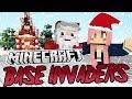 Christmas Secrets  Minecraft Base Invaders Challenge