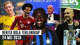 Download Video Sane & Lukaku Pindah Klub 😱 Peserta Piala Dunia 2024 🔥 Guardiola Pelatih Terbaik Sepanjang Masa MP3 3GP MP4