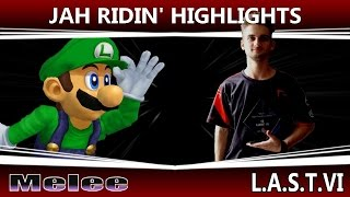 Jah Ridin's player highlights at LAST VI (Swiss Luigi, crazy set vs Tekk)