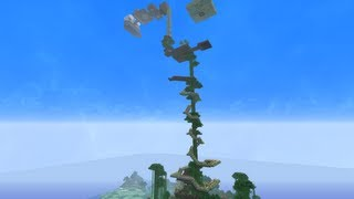 Minecraft Survival House Tour - Jungle Tree House and Castle - World Download