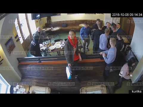 Опубликовано полное видео драки с Кокориным и Мамаевым в московском кафе