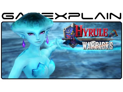 Lake - http://www.GameXplain.com The latest Hyrule Warriors screenshots show off new characters including Princess Ruto, Darunia, and Sheik, as well as new locations such as Death Mountain, Lake Hylia,...