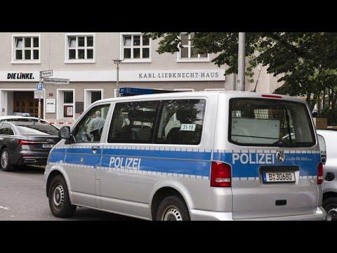 Bombendrohung: Parteizentrale der Linken geräumt - rec ...