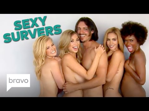 Sexy SURvers Get Naked! 💦 | Every Time the Vanderpump Rules Cast Stripped Down