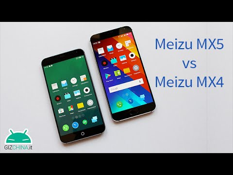 confronto! meizu mx5 vs meizu mx4!