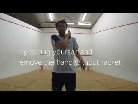 Squash Backhand Technique – Both for newbies and Advanced